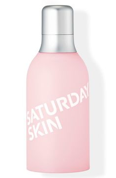 Free shipping and returns on Saturday Skin Daily Dew Hydrating Essence Mist at Nordstrom.com. What it is: A refreshing mist that contains concentrated extracts of kiwi and grape to quench, nourish and drench your skin in a veil of moisture.What it does: This all-in-one hydrating essence mist replenishes lost moisture while refreshing your skin over or under your makeup throughout the day. It also preps skin for treatment while minimizing the look of pores and allowing products to absorb…