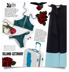 """""""Shein -bikini-"""" by dolly-valkyrie ❤ liked on Polyvore featuring Johanna Ortiz"""