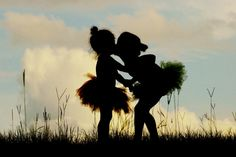 dance photography, little girls, silhouett, little girl dance pictures, sister photo, fairi, friend, kid, photographi