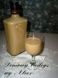 Domowy baileys wg Aleex Polish Recipes, Irish Cream, Baileys, Kitchen Art, Cold Drinks, Projects To Try, Food And Drink, Tasty, Homemade