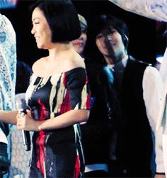 "Aw, precious ""OnTae"". Onew & Taemin (SHINee): KBS Music Festival in L.A. (.gif set)."