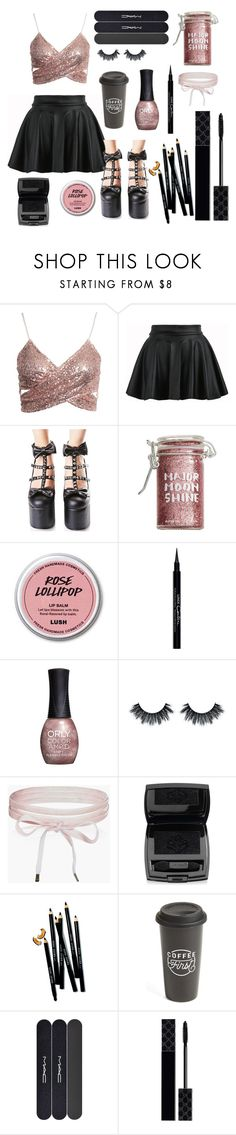 """""""Lost in You"""" by violenceinsilence ❤ liked on Polyvore featuring Demonia, Major Moonshine, Givenchy, ORLY, Boohoo, Lancôme, Bobbi Brown Cosmetics, The Created Co., MAC Cosmetics and Gucci"""