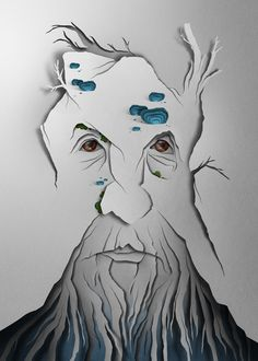Treebeard by Eiko Ojala, via Behance