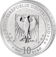 Germany 10 Euro Silver Coin 2007