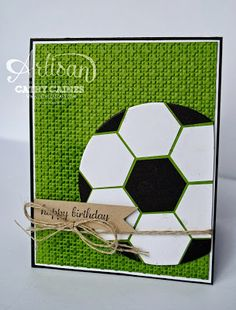 In The Cat Cave: Masculine Birthday, Soccer card