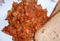Hlávkové zelí na pivu Hummus, Cauliflower, Chicken, Meat, Vegetables, Russian Recipes, Polish, Cauliflowers, Vitreous Enamel