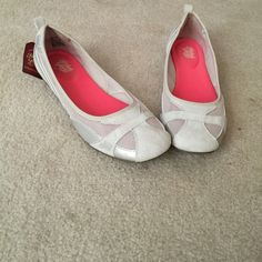 Simple cream colored flats/ballet shoes Non-marking, skid resistant soles. Comfortable shoes. NWT. Faded Glory Shoes Flats & Loafers