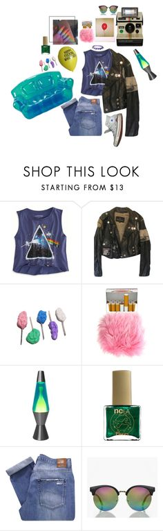 """""""here we are now entertain us, pisces [zodiac collection]"""" by afbdzjm ❤ liked on Polyvore featuring American Eagle Outfitters, Lava, ncLA, Nobody Denim, Converse and Boohoo"""