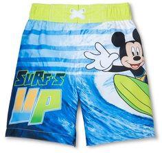 Disney® Toddler Boys' Mickey Mouse Swim Trunks