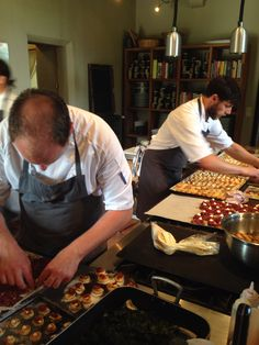 Chateau Rigaud's dream chefs