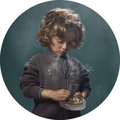 Big Picture: Smoking Kids, by Frieke Janssens
