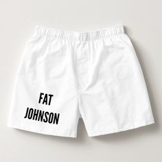 Christmas underwear fat johnson men's boxers