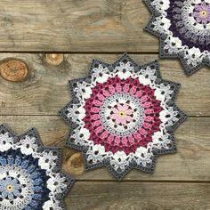 Winter Mandala / English Pattern