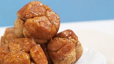 Join our #HealthySwapsChallenge and get genius ideas to make all your favorite meals a little bit better for you, like this better for you monkey bread. | Health.com