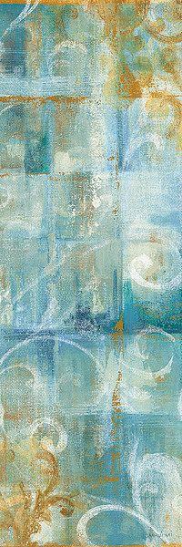 Aqua Abstract II by Danhui Nai - Art Print Framed & Unframed at www.framedartbytilliams.com