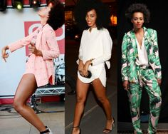 Keep calm and Solange on. How to do the girliest tomboy.