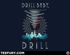 Bioshock t-shirt at www.teefury.com