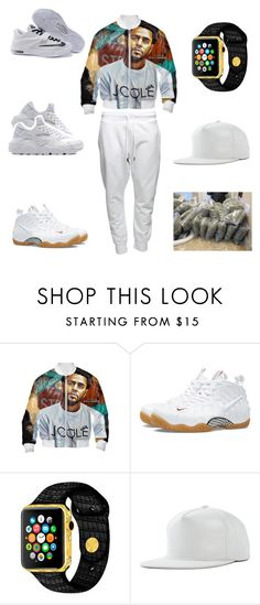 """chillin wit homies"" by aleisharodriguez ❤ liked on Polyvore featuring NIKE, men's fashion and menswear"