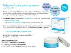 Vitry balsamo de manos hidratante y reparador. www.farmaciamontagut.com