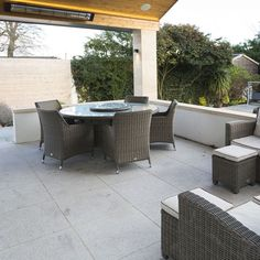 Granite Paving Slabs Ireland   Outdoor Living  Granite is a premium natural stone that has been used in the finest projects in homes, hotels and public squares across the world.  Granite is strong, long lasting and looks tremendous for decades. Natural silver granite paving is ideal for creating a sublime garden patios, pathways and commercial terraces. Grey Paving, Granite Paving, Paving Slabs, Granite Slab, Outdoor Tiles, Outdoor Decor, Paved Patio, Granite Colors, Open Plan Living