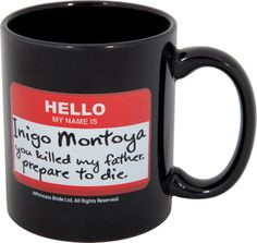 """They need to make a mug that says """"My name is Prince Oberyn Martell.  My sister is Elia Martell.  You raped her, you killed her, you murdered her children.  Prepare to die."""""""