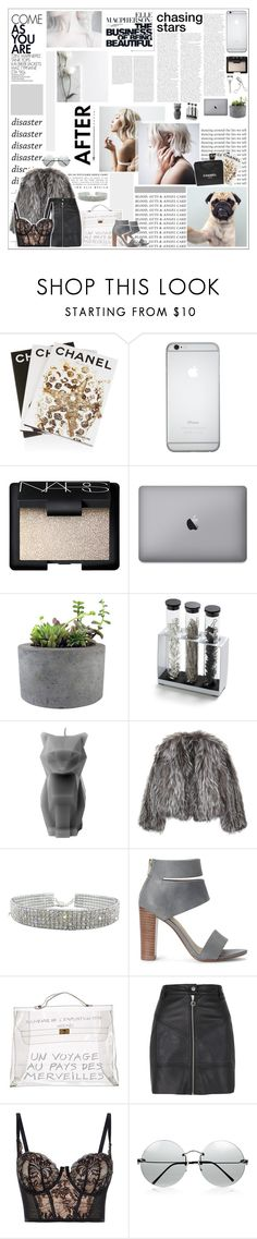 """""""☆ Nº 9"""" by loomislou ❤ liked on Polyvore featuring GET LOST, Oris, Dollhouse, Assouline Publishing, Chanel, NARS Cosmetics, Japonesque, Rough Fusion, Lab and PyroPet"""