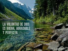 """""""La Voluntad de Dios es buena agradable y perfecta"""""""
