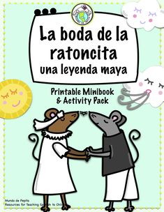 Teach culture and language together with this Mayan legend in Spanish, perfect for novice high/intermediate levels. Includes minibook of story + activity pack with lesson ideas and extension activities, as well as an info page of the Cho'l Indians. Mundo de Pepita, Resources for Teaching Spanish to Children
