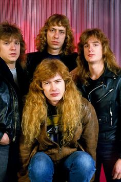 ~FIRST LINE UP OF MEGADETH~