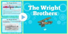 * NEW * The Wright Brothers Information PowerPoint Wright Brothers Plane, 4th Grade Social Studies, Reading Test, Wax Museum, Inventors, Biographies, Best Apps, Girl Scouts, North Carolina
