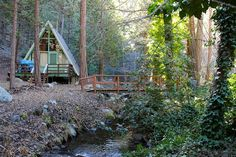 A-frame in Poso Park, Sequoia National Forest in Posey, California. Contributed by Michael J. Hofer.