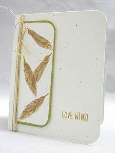 Love Wins by *Jingle*  justjingle.blogspot using Frame and Feathers set from Hero Arts