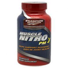 Cheap Champion Nutrition Muscle Nitro PM (120 Caps) Champion Nutrition, Nitric Oxide Supplements, Bodybuilding Supplements, Nutritional Supplements, Muscle Mass, Conditioner, Health, Minerals, Salud