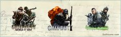 The Call of Duty #icons by Karim Adel Mohammad
