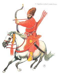 Wallachian or Moldavian light cavalryman, 17th century