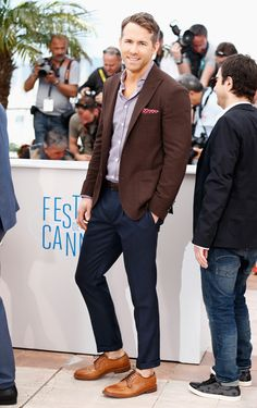 Cannes 2014: The best men's fashion moments (and by that we mean eye candy) // Ryan Reynolds