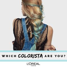 With new Colorista Washout from L'Oréal Paris, you can get hair colour you can obsess over, at the commitment you want. L'Oréal Paris Colorista Washout is a semi-permanent colour that fades gradually over 1-2 weeks. Switch and change whenever you want. Don't just DIY, #DoItYourWay