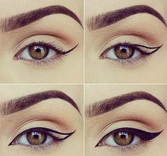 The BEST eyeliner tutorial by Paulina (miaumauve). #eyelinertutorial #makeuptutorial #eyeliner #esqido