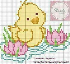Designing Your Own Cross Stitch Embroidery Patterns - Embroidery Patterns Cute Cross Stitch, Cross Stitch Animals, Cross Stitch Designs, Cross Stitch Patterns, Cross Stitching, Cross Stitch Embroidery, Embroidery Patterns, Pixel Crochet Blanket, Graph Paper Art