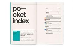 pocket index - designspiration
