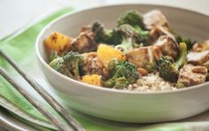 Kung Pao Broccoli and Tofu with Pineapple | Whole Foods Market