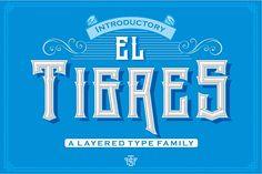 El Tigres from FontBundles.net
