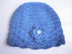 Crochet Hats | If you want to make a crochet hat like this. You need to purchase the ...