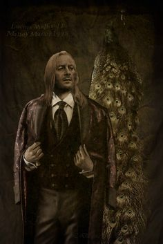Lucius Malfoy II in Malfoy Manor. 1998 old photo the found Draco in 2016. #luciusmaifoy #art #oldfoto