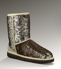 Womens Classic Short Sparkles By UGG Australia. WANT!! Saw a girl wearing them in Target today..