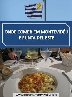 Onde comer em Punta del Este e Montevidéu, principais restaurantes, bares, carnes, parrilla, massas, panqueca de doce de leite. Montevideo