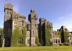 Ashford Castle is a medieval castle turned five star luxury hotel near Cong on the Mayo/Galway border in Ireland, on the shore of Lough Corrib. Ashford Castle is a member of the Leading Hotels of the World organization. Wikipedia