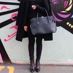 Compassionate fall style means sleek Vegan bags that Give Back, available at www.beadandreel.com