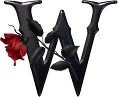 Alfabeto gótico - rockero. | Oh my Alfabetos!