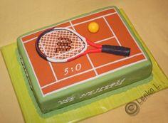 Výsledek obrázku pro dort tenis